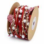 ABBY -J Bciou – Couronne de perles en forme de cœur pour Saint-Valentin