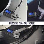 Précise Stylus Turntable Balance numérique force Gauge 0.01g Affichage LCD rétro-éclairage pour Platines Tonearm Phono