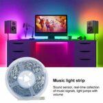 Bande lumineuse colorée flexible et réglable pour décoration de fête KTV pour la maison