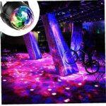Disco Ball Party LED son actif éclairage avec câble USB pour les Parties Fêtes Anniversaires