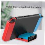 Accessoires commutateur TV Dock adaptateur de type C support de charge de portable HD 1080P station Video Converter