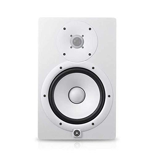 Yamaha HS8 – Enceinte de Monitoring Studio Amplifiée – Enceinte de Mixage pour Dj, Musiciens et Producteurs – Blanche