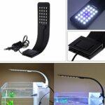SimpleLife 10W High Brightness Aquarium Fish Tank 5730LED Lampe économie d'énergie Prise de l'UE