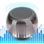 Surebuy Haut-Parleur Lumineux coloré Haut-Parleur Audio, avec câble d'alimentation