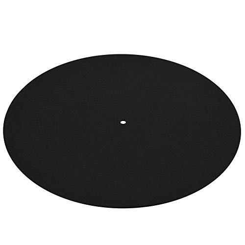 Tapis Antistatique Plat Doux Tapis Slipmat Tapis Ultra-Mince Antistatique Vinyle Platine Vinyle Disque Disque 1 PCS pour Phonographes