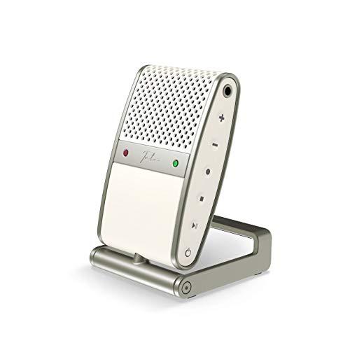 Tula Mic – Microphone USB C et enregistreur mobile pour podcasts, YouTube, Vlogging, appels zoom. Compatible avec MAC/PC, iOS et Android (White)