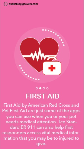 First Aid Disaster Apps
