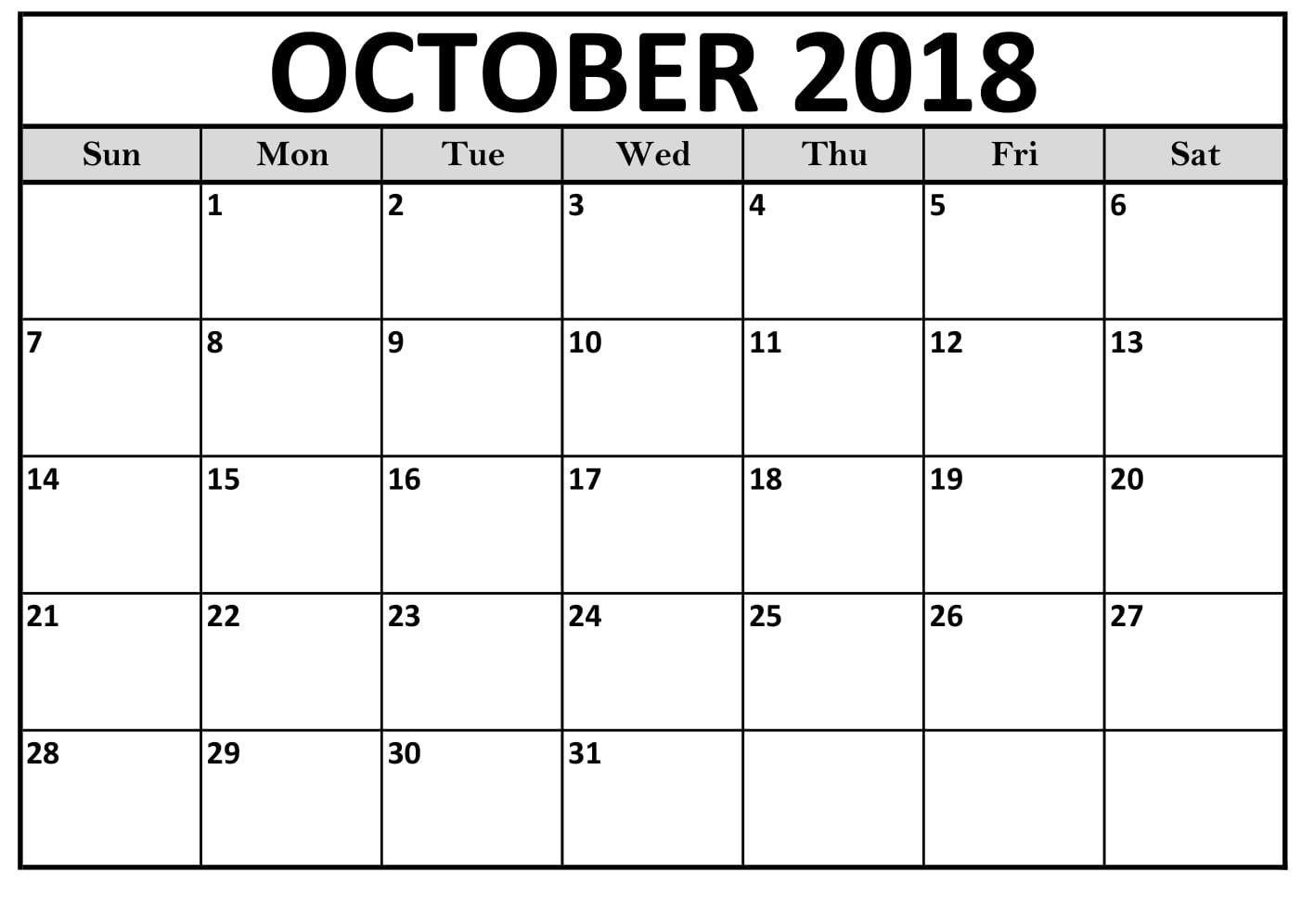 Free Printable Calendar Worksheets
