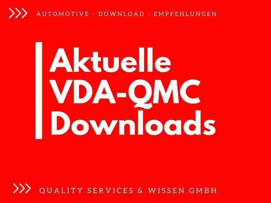 VDA QMC Downloads