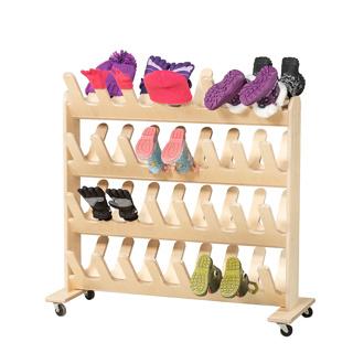 boot mitt mobile drying rack small