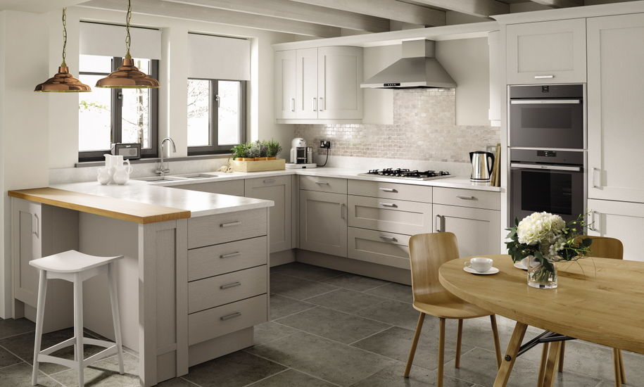 quality kitchen doors nottingham shaker style
