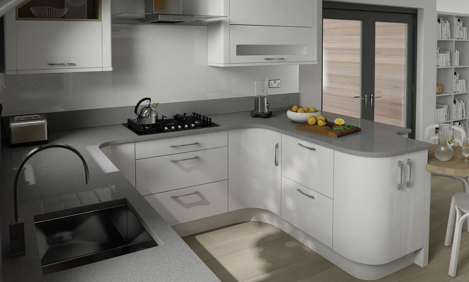 quality kitchen doors nottingham white finish & Quality Kitchen Doors Nottingham u2013 A new stylish kitchen for less! pezcame.com