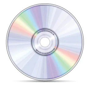 Plastic CDs and DVDs