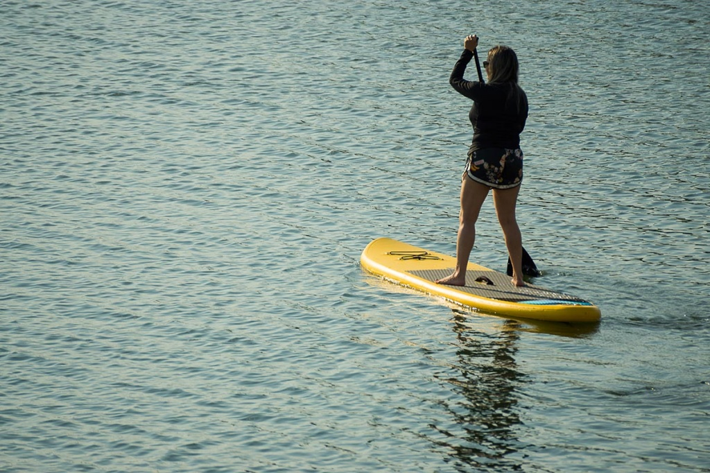 Stand Up Paddle no rio Tocantins