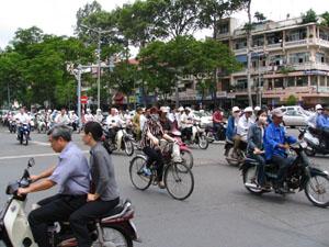 Ho Chi Minh Ville en janvier