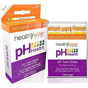 HealthyWiser pH Test Strips