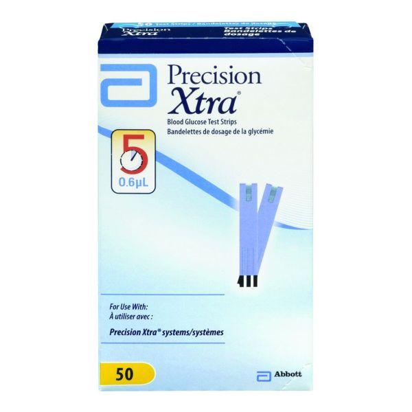 Precision Xtra Glucose Strips