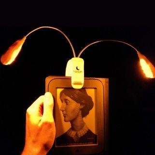 SomniLight Amber Book Light
