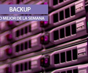 BackUp, lo mejor de la semana: aplicaciones, antivirus y servidores vulnerables.
