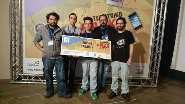 Ganadores Hackathon Arriate
