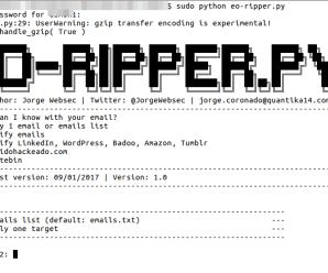 ¿Qué puedo hacer y saber de ti con tu email?: Email OSINT Ripper (EO-ripper.py)[parte II]