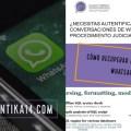 ¿Cómo recuperar mensajes de WhatsApp con Guasap Forensic y SQLite Deleted Records Parser?