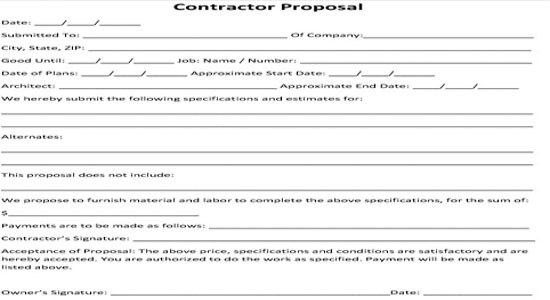 Hvac Proposal Template pin on pinterest proposals free prints – Hvac Proposal Template