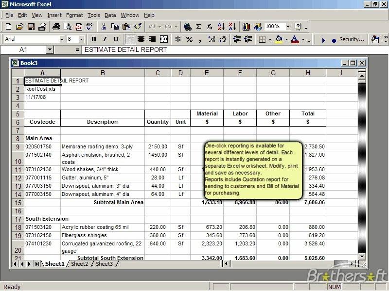 estimator for excel 2 0 cost estimator sheet roof cost estimator