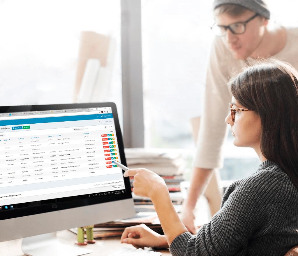 Software médico y administrativo