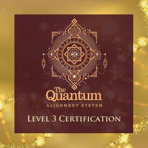 Quantum Alignment System Level 3 Certification