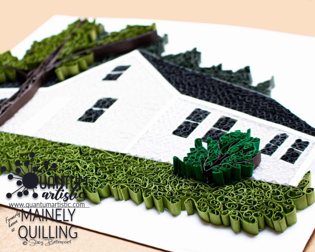 Paper Quilled Ancestral House