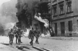 Burning the Warsaw Ghetto