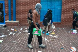 "Baltimore ""protest"" looters"