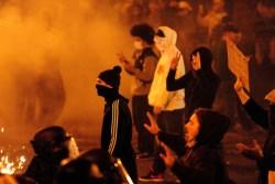 Portland anti-Trump riot