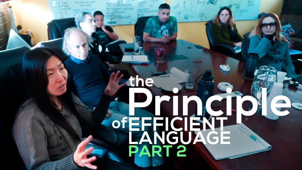 The Principle of Efficient language in emergence theory