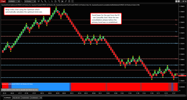 Renko chart strategy for the YM