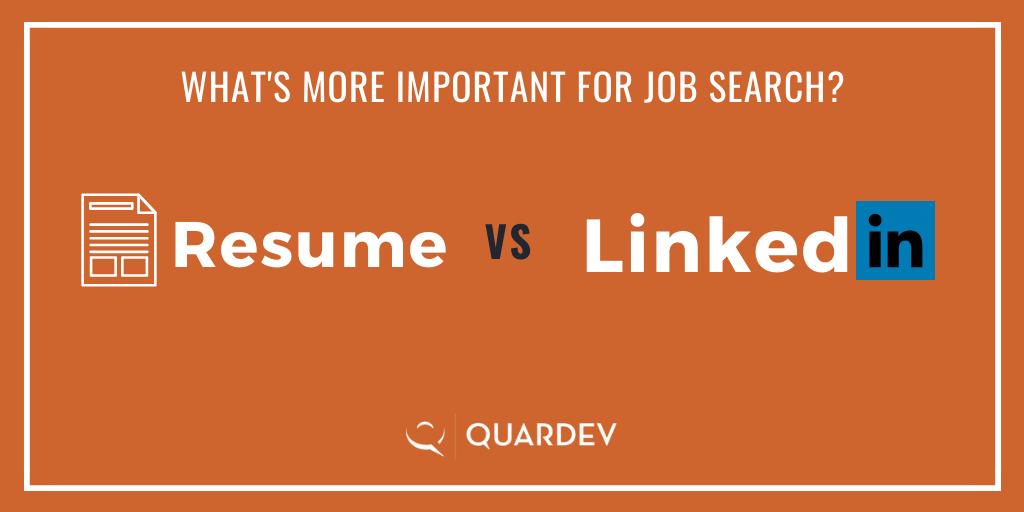 resume vs linedin_In