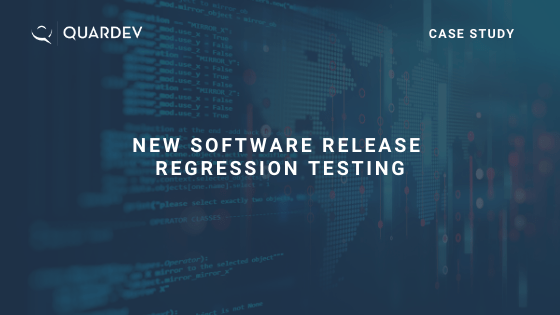 New Software Release Regression Testing