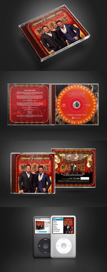 CD Cabaré – Leonardo e Eduardo Costa