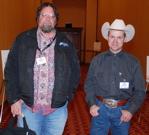 Gregg Veneklasen DVM and Jason Abraham