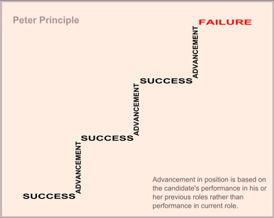 Peters principle web