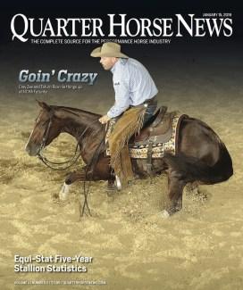 Quarter Horse News January 15 2019 cover