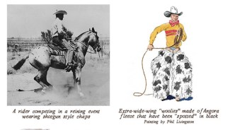 Chaps throughout history illustration