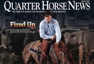 Quarter Horse News magazine May 15 2019 cover