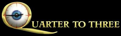 Quarter to Three Logo