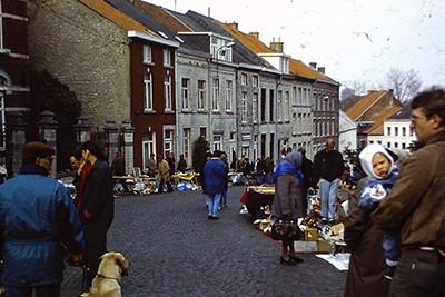 Brocante à Saint-Médard