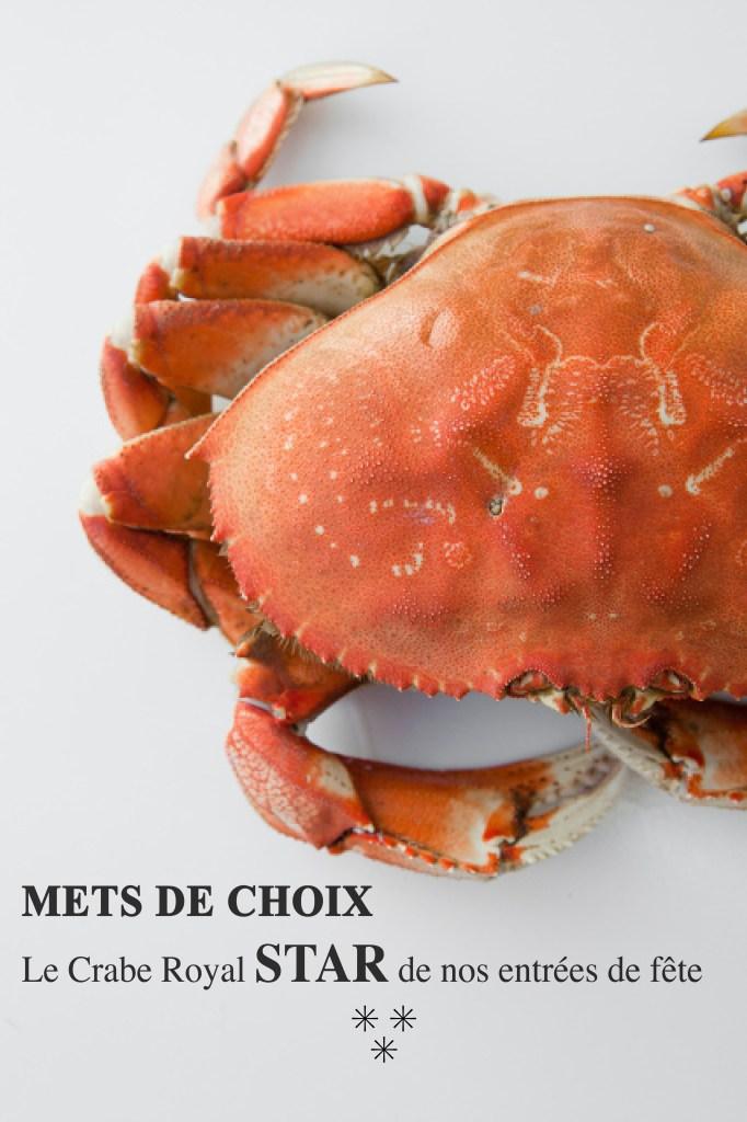 Verrine crabe, avocat