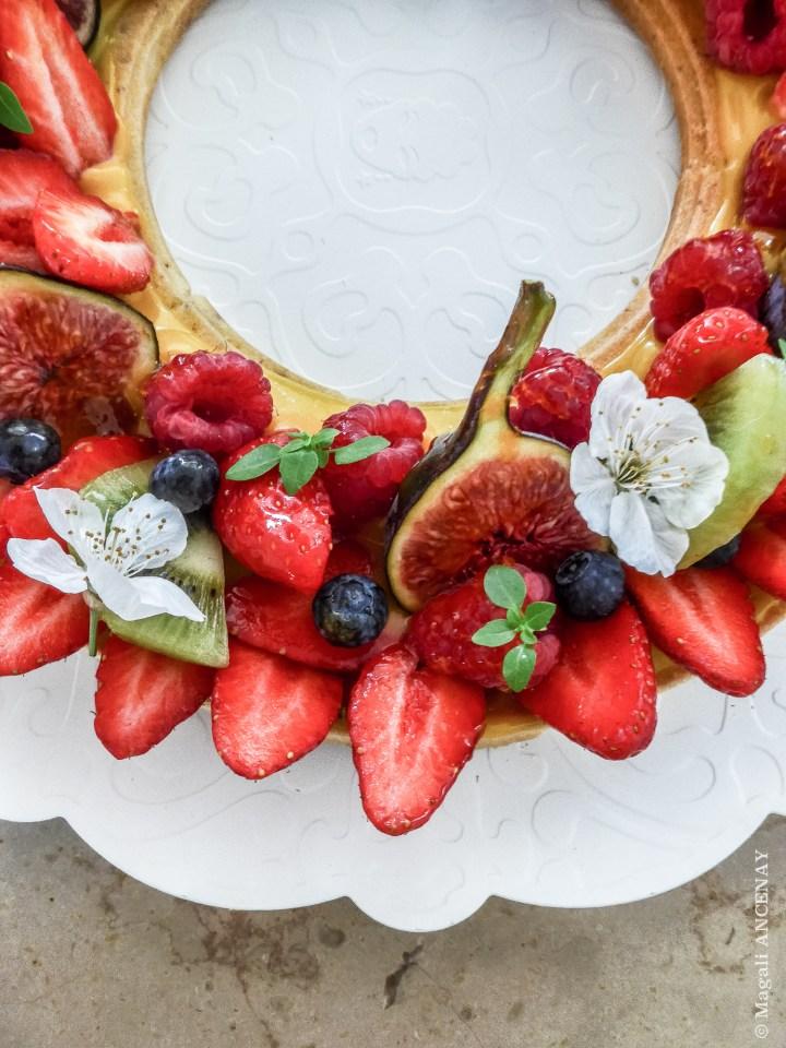 Tarte couronne de fruits rouges-2