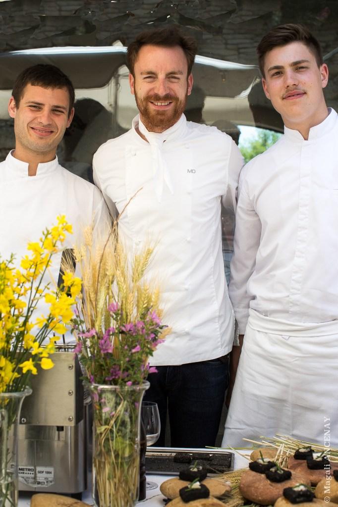 Mathieu DESMAREST et son équipe - HOTEL DE L'EUROPE - AVIGNON
