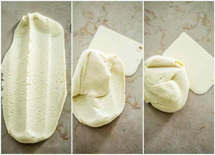 Technique frasage de la pâte sucrée Philippe Conticini